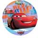 """26""""/66 см шар из фольги Прозрачный Тема:  Cars"""