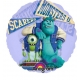 "26""/66cm Folija balons  Сaurspīdīgs Tēma: Monster High"