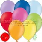 27см шар из латекса  пастельного  цвета с гелием и hi-float, ассорти, 1 шт.