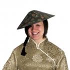 Азиатская шляпа солнце