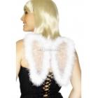 Крылья ангела, белые, блестящие