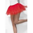 Нижняя юбка красная