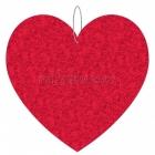 Valentindienas papira dekoracija, sirds