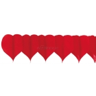 Valentindienas papira dekoracija-vitne
