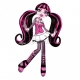 Draculaura Monster High Folija  Super figūre  116cm x 165cm