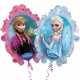 Frozen 78cm, folija balons Tēma: Ledus sirds