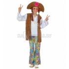 Woodstock hipijs  kostīms, (140cm)