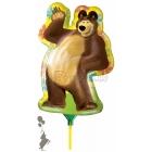 Маша и Медведь, Мини-фигура фольгированная «Медведь»