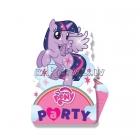 Пригласительные My little pony, с конвертом, упаковка 8 комплектов.