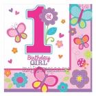 1 Dzimšanas diena  salvetes