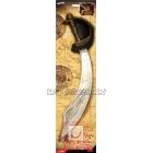 Пиратский  меч  50 см повязка на глаз