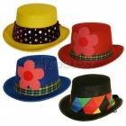 Карнавальная шляпка мини-цилиндр