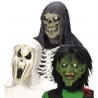 Šausmu maska Helovīniem, 1gb., trīs dizaini