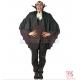 Vampīra apmetnis Helovīniem, melns, 90cm