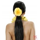 Цветок - резинка для волос. 1 шт., 4 цвета