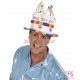"Cepure ar uzrakstu ""Happy Bithday"", velveta"