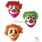 Klauna maska ar matiem