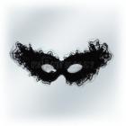 Венецианская карнавальная черная маска