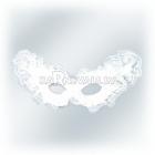 Венецианская карнавальная белая маска