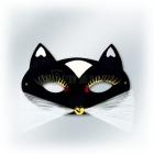 Карнавальная маска - черная ПАНТЕРА