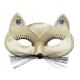 Zelta  kaķu maska