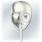 Венецианская карнавальная серебряная маска
