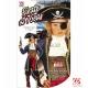 Карнавальный костюм (140см) - Пират 7 морей: куртка, жилет, жабо, манжеты, брюки, пояс, бахилы, шляпа, повязка на глаз