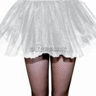 Нижняя юбка, подъюбник, белого цвета