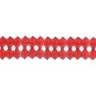 Valentīndienas papīra dekorācija, vītne, 0.14x3 m