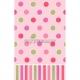 Galdauts Saldā Dzimšanas Dienā, rozā, punkti un svītras