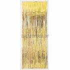 Durvju aizkari folija dekorācija zelts
