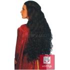 Парик гувернантки,  длинные волнистые волосы, цвет - черный
