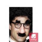 Комические очки, нос, усы, брови