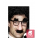 Groucho brilles, deguns, usas, uzacis