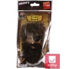 Пиратская борода, черная