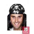 Пиратская бандана с черепами