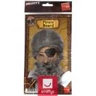 Pirāta bārda , pelēka