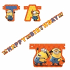 "Party banner  Minions ""HAPPY BIRTHDAY"" 1.8m"