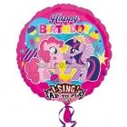 Поющий музыкальный шар из фольги  My little Pony