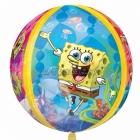 Губка Боб (Sponge Bob) квадратные штаны шарик из фольги Orbz