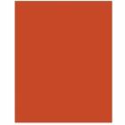 Скатерть  без рисунка, пластик, оранжевый цвет,  137 см х 274 см