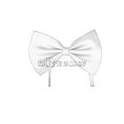 Белый галстук - бабочка