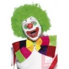 Бант Бабочка клоуна,  цветные кубики, на резинке