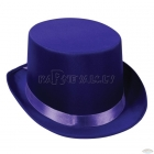 Атласный гладкий  цилиндр, фиолетовый
