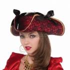 Pirāta cepure pieaugušajiem 38cm x 13cm
