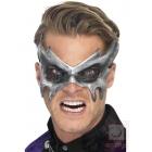 Маска Фантома для Хэллоуина, серая, на резинке