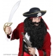 Шляпа пирата из фетра