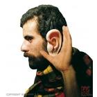 Огромные  уши из латекса