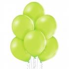 """12""""/30cm lateksa baloni Pastelis Abolu Zaļš 6 gab."""