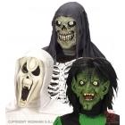 Детские страшные латексные маски
